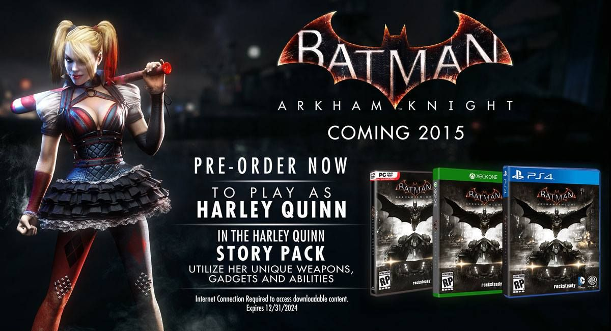 batman arkham knight how to get season pass back