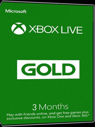 Xbox Live Gold - 3 month subscription [EU]