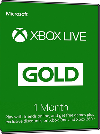 Xbox Live Gold - 1 month subscription [EU] Screenshot