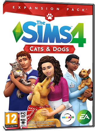 The Sims 4 + Cats & Dogs Bundle (original game + expansion) Screenshot