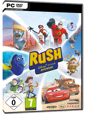 Rush - A Disney Pixar Adventure Screenshot
