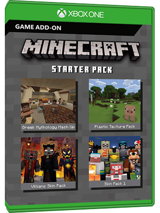 Minecraft Starter Pack (DLC) - Xbox One Download Code