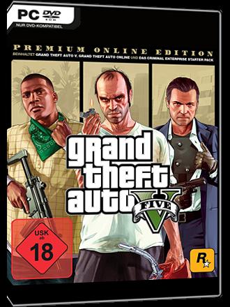 Grand Theft Auto V (GTA 5) - Premium Online Edition
