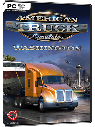 American Truck Simulator - Washington (DLC) Screenshot