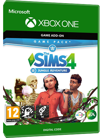 The Sims 4 - Jungle Adventure DLC (Xbox One Download Code)