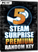 Steam Surprise Premium - Random Steam Key - 5 Pack