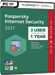 Kaspersky Internet Security 2017 (3 Users / 1 Year)