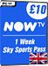 NOW TV - 1 Week Sky Sports Pass