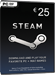 Steam Game Card 25 EUR