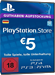 PSN Card 5 Euro [DE] - Playstation Network Credit