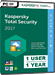 Kaspersky Total Security 2017 (1 User / 1 Year)