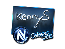 Sticker | kennyS (Foil) | Cologne 2015