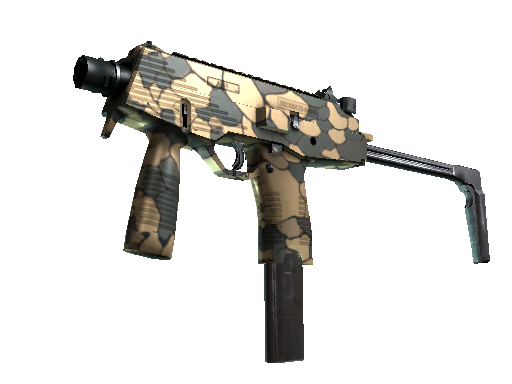 StatTrak™ MP9 | Sand Scale (Minimal Wear)