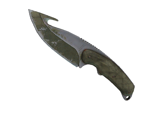 ★ StatTrak™ Gut Knife | Safari Mesh (Battle-Scarred)
