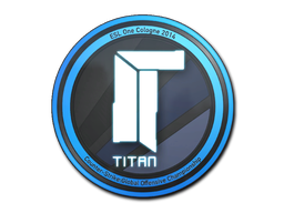 Sticker | Titan | Cologne 2014