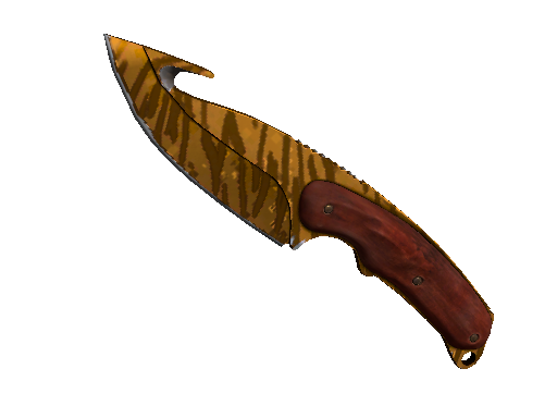 ★ StatTrak™ Gut Knife | Tiger Tooth (Minimal Wear)