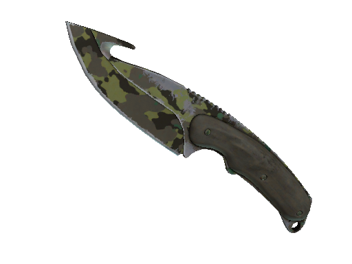 ★ Gut Knife | Boreal Forest (Well-Worn)