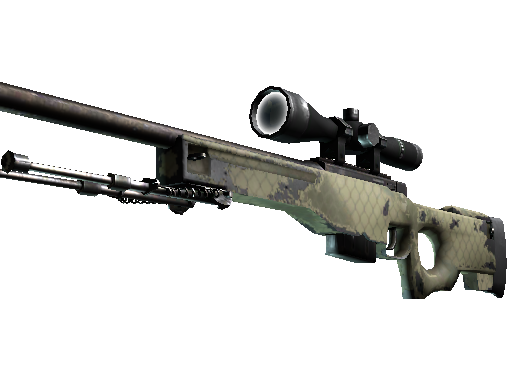 Souvenir AWP | Safari Mesh (Well-Worn)