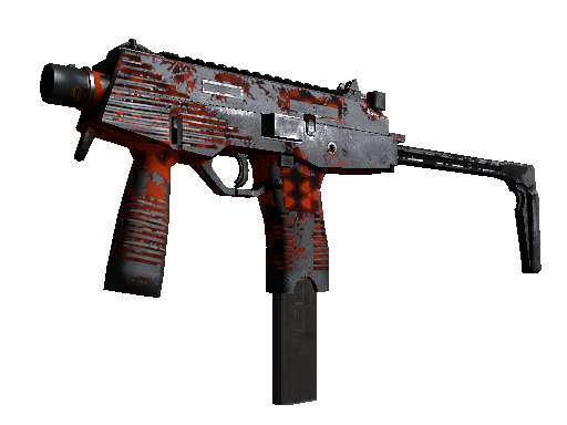 Souvenir MP9 | Setting Sun (Battle-Scarred)