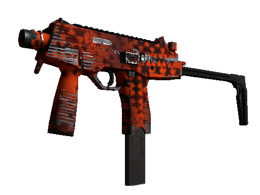 Souvenir MP9 | Setting Sun (Well-Worn)