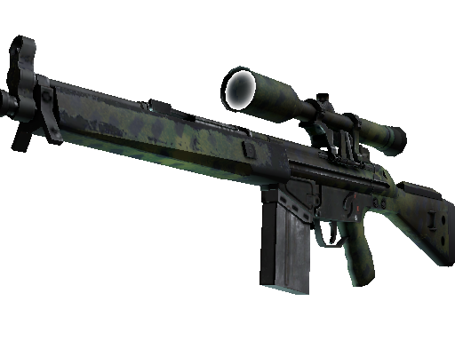 Souvenir G3SG1 | Jungle Dashed (Field-Tested)