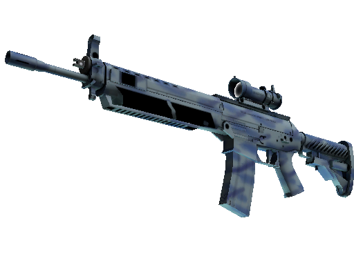 StatTrak™ SG 553 | Wave Spray (Factory New)