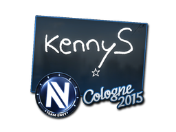 Sticker | kennyS | Cologne 2015