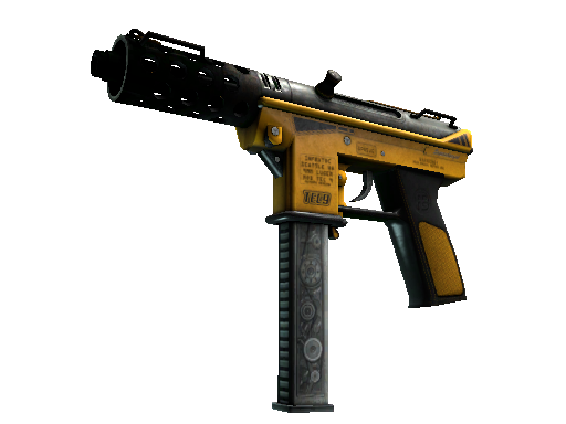 StatTrak™ Tec-9 | Fuel Injector (Battle-Scarred)