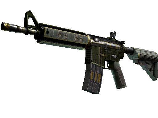 StatTrak™ M4A4 | The Battlestar (Minimal Wear)