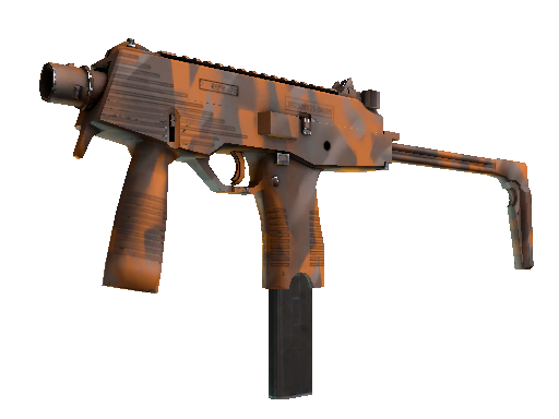 MP9 | Orange Peel (Minimal Wear)
