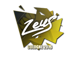 Sticker | Zeus | Cologne 2016