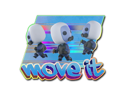 Sticker | Move It (Holo)
