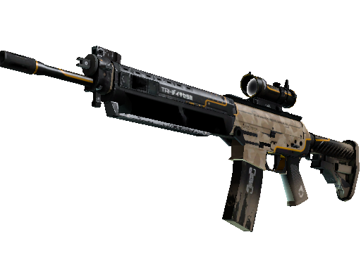 StatTrak™ SG 553 | Triarch (Well-Worn)