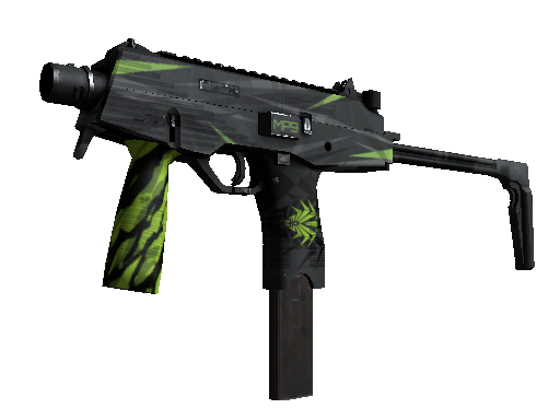 MP9 | Deadly Poison (Well-Worn)