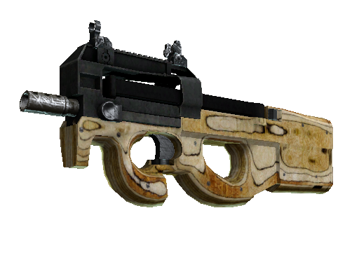 StatTrak™ P90 | Shapewood (Battle-Scarred)