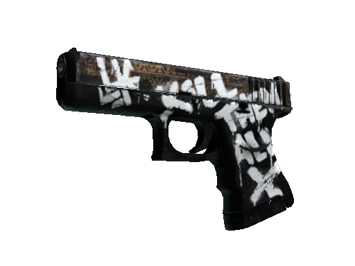 StatTrak™ Glock-18 | Wasteland Rebel (Well-Worn)