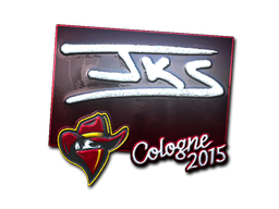Sticker | jks (Foil) | Cologne 2015