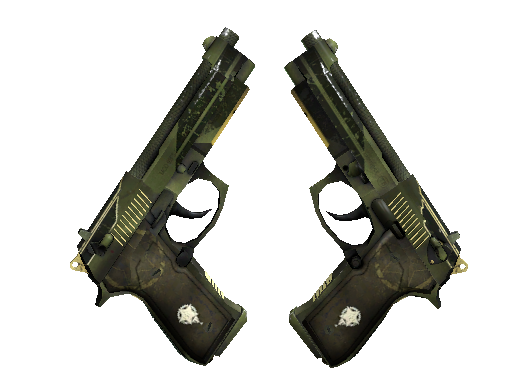 StatTrak™ Dual Berettas | Retribution (Factory New)
