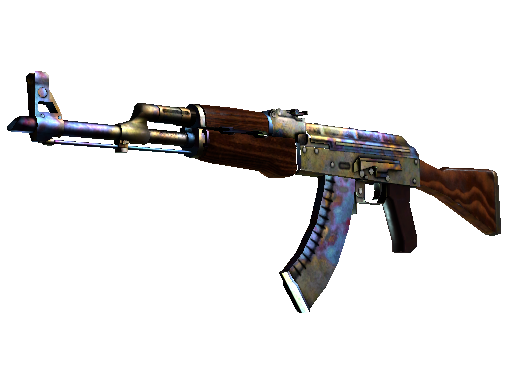 AK-47 | Case Hardened (Battle-Scarred)