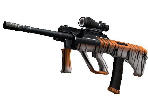 StatTrak™ AUG | Bengal Tiger (Minimal Wear)
