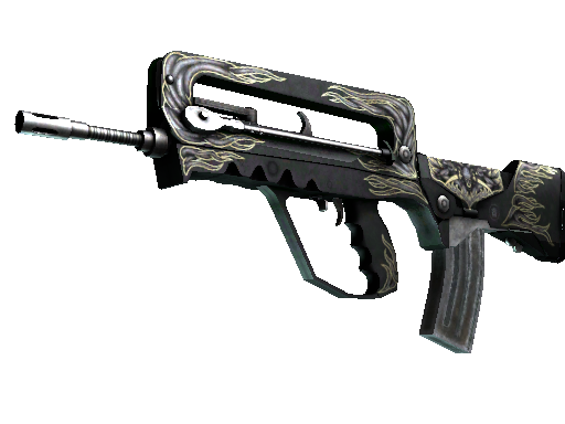 StatTrak™ FAMAS | Djinn (Well-Worn)