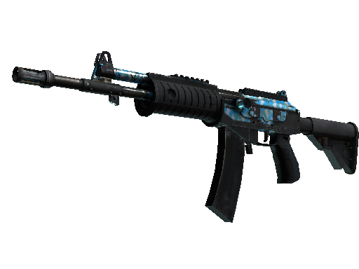 Galil AR | Aqua Terrace (Battle-Scarred)