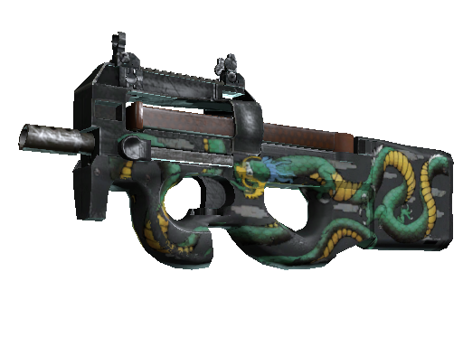 StatTrak™ P90 | Emerald Dragon (Field-Tested)