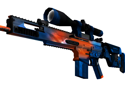 StatTrak™ SCAR-20 | Cardiac (Factory New)