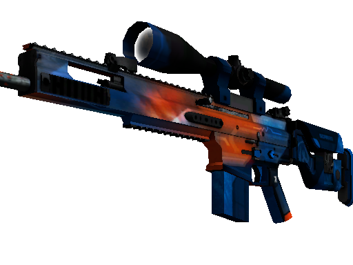 StatTrak™ SCAR-20 | Cardiac (Battle-Scarred)