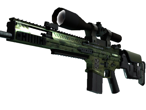 SCAR-20 | Green Marine (Factory New)