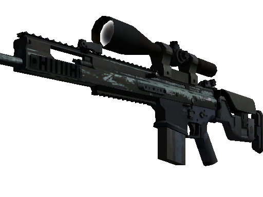 SCAR-20 | Storm (Battle-Scarred)