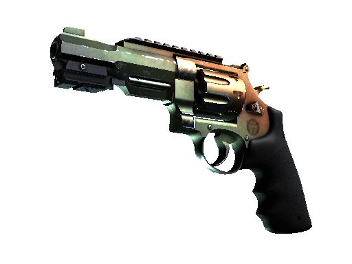 R8 Revolver | Amber Fade (Field-Tested)