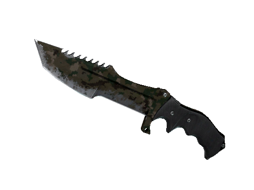 ★ Huntsman Knife | Forest DDPAT (Battle-Scarred)