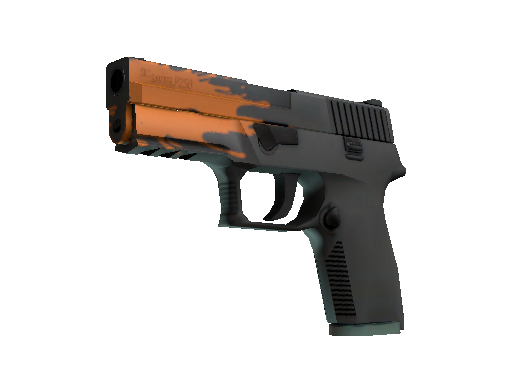 StatTrak™ P250 | Splash (Minimal Wear)